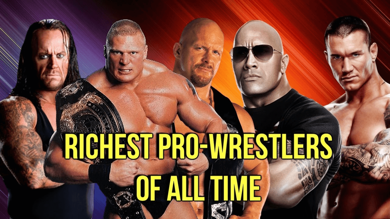 40 Richest Wrestlers All The Time